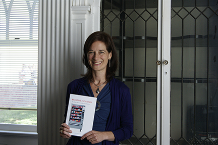 Melissa Aronczyk has written a new book, Branding the Nation: The Global Business of National Identity. Photo by Carol Peters.