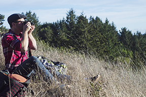 Barna pursues his hobby in Muir Woods in California as an amateur photographer. Both photos were provided by  Barna.